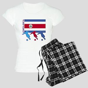 Costa Rica Soccer Women's Light Pajamas