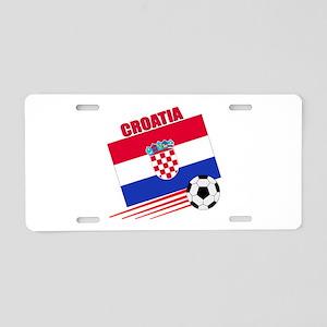 Croatia Soccer Team Aluminum License Plate