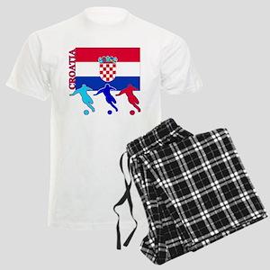 Croatia Soccer Men's Light Pajamas