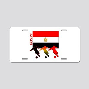 Egypt Soccer Aluminum License Plate