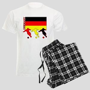 Germany Soccer Men's Light Pajamas