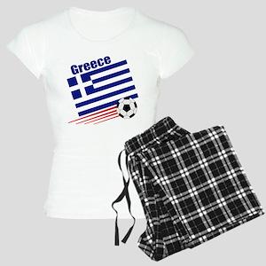 Greece Soccer Team Women's Light Pajamas