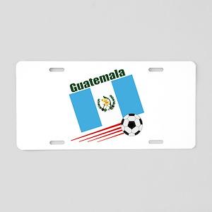 Guatemala Soccer Team Aluminum License Plate