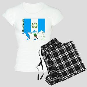 Guatemala Soccer Women's Light Pajamas