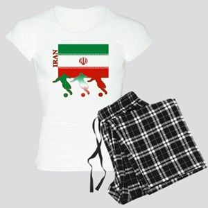 Iran Soccer Women's Light Pajamas