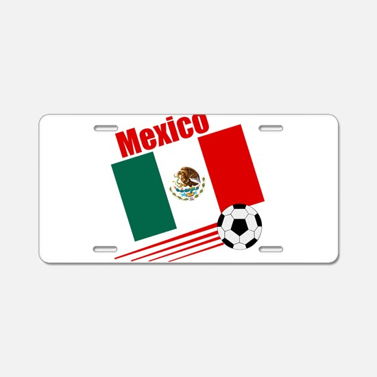 Mexico Soccer Team Aluminum License Plate