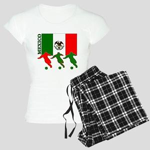 Soccer Mexico Women's Light Pajamas
