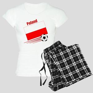 Poland Soccer Team Women's Light Pajamas