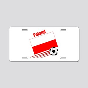 Poland Soccer Team Aluminum License Plate