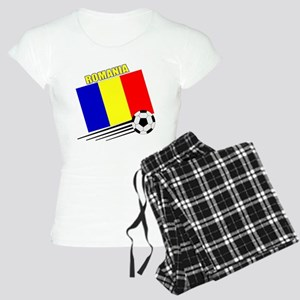 Romanian Soccer Team Women's Light Pajamas