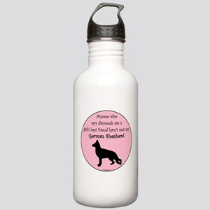 Girls Best Friend - GSD Stainless Water Bottle 1.0