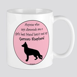Girls Best Friend - GSD Mug