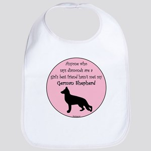 Girls Best Friend - GSD Bib