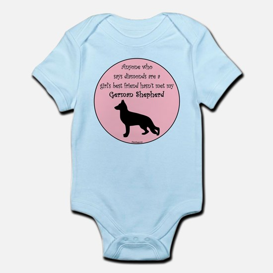 Girls Best Friend - GSD Infant Bodysuit
