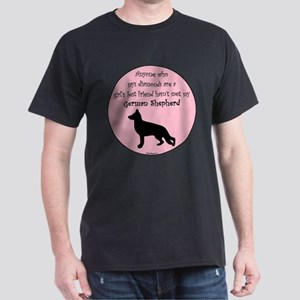 Girls Best Friend - GSD Dark T-Shirt