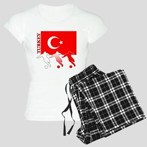 Turkey Soccer Women's Light Pajamas