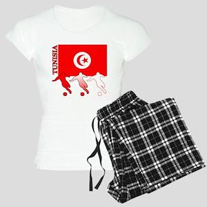 Tunisia Soccer Women's Light Pajamas