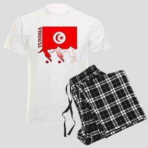 Tunisia Soccer Men's Light Pajamas