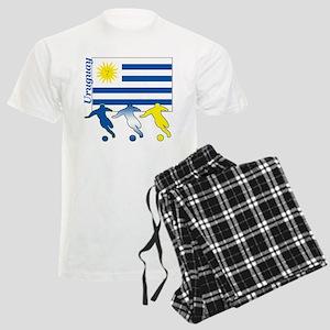 Uruguay Soccer Men's Light Pajamas