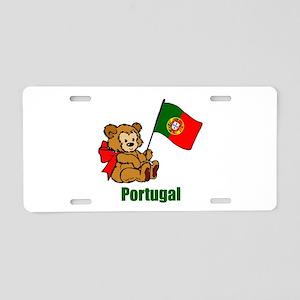 Portugal Teddy Bear Aluminum License Plate
