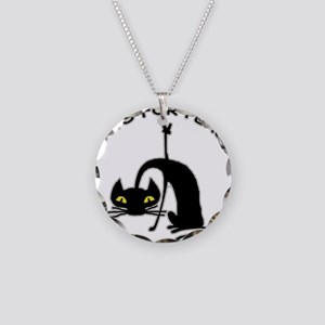 Cats For Peace Necklace Circle Charm