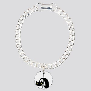 Cats For Peace Charm Bracelet, One Charm