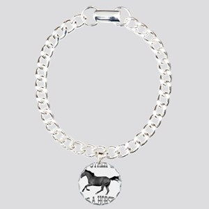My Other Car Is A Horse Charm Bracelet, One Charm