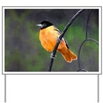 Baltimore Oriole Yard Sign