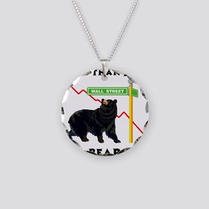 More Than I Can Bear Market Necklace Circle Charm