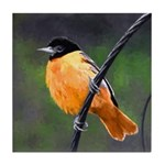 Baltimore Oriole Tile Coaster