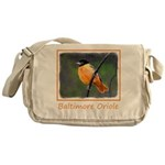 Baltimore Oriole Messenger Bag