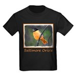 Baltimore Oriole Kids Dark T-Shirt