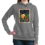 Baltimore Oriole Women's Hooded Sweatshirt
