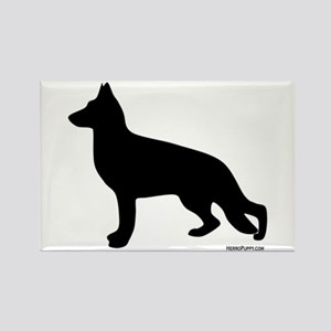 GSD Silhouette Rectangle Magnet