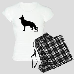 GSD Silhouette Women's Light Pajamas