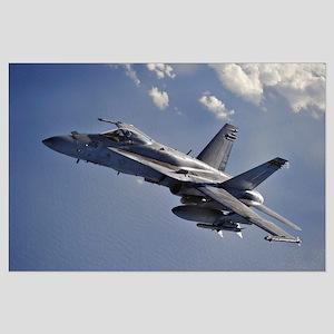 F-18 Super Hornet Large Poster