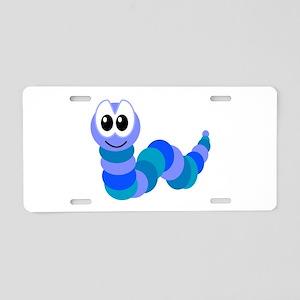 Cute Little Goofkins Caterpil Aluminum License Pla