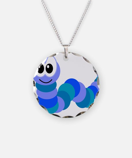 Cute Little Goofkins Caterpil Necklace