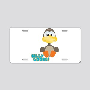 Goofkins Silly Silly Goose Aluminum License Plate