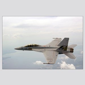F-18 Supersonic Test Flight Large Poster