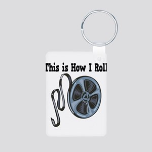 How I Roll (Movie Film) Aluminum Photo Keychain