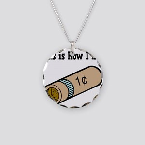How I Roll (Coins/Change) Necklace Circle Charm