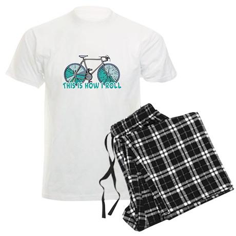 How I Roll (Bicycle/Bike) Men's Light Pajamas