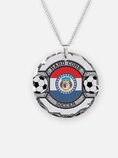 Missouri Soccer Necklace