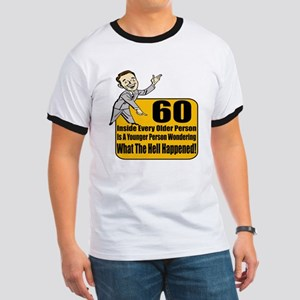 60th Birthday Ringer T