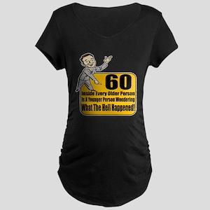 60th Birthday Maternity Dark T-Shirt