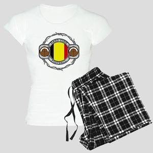 Belgium Football Women's Light Pajamas