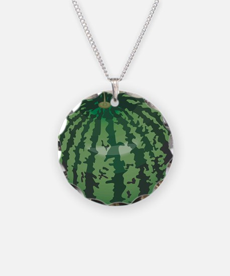 Funny Watermelon Belly Necklace