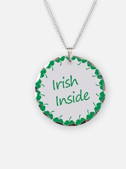 Irish Inside Belly Necklace