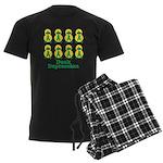Depression Awareness Ribbon D Men's Dark Pajamas
